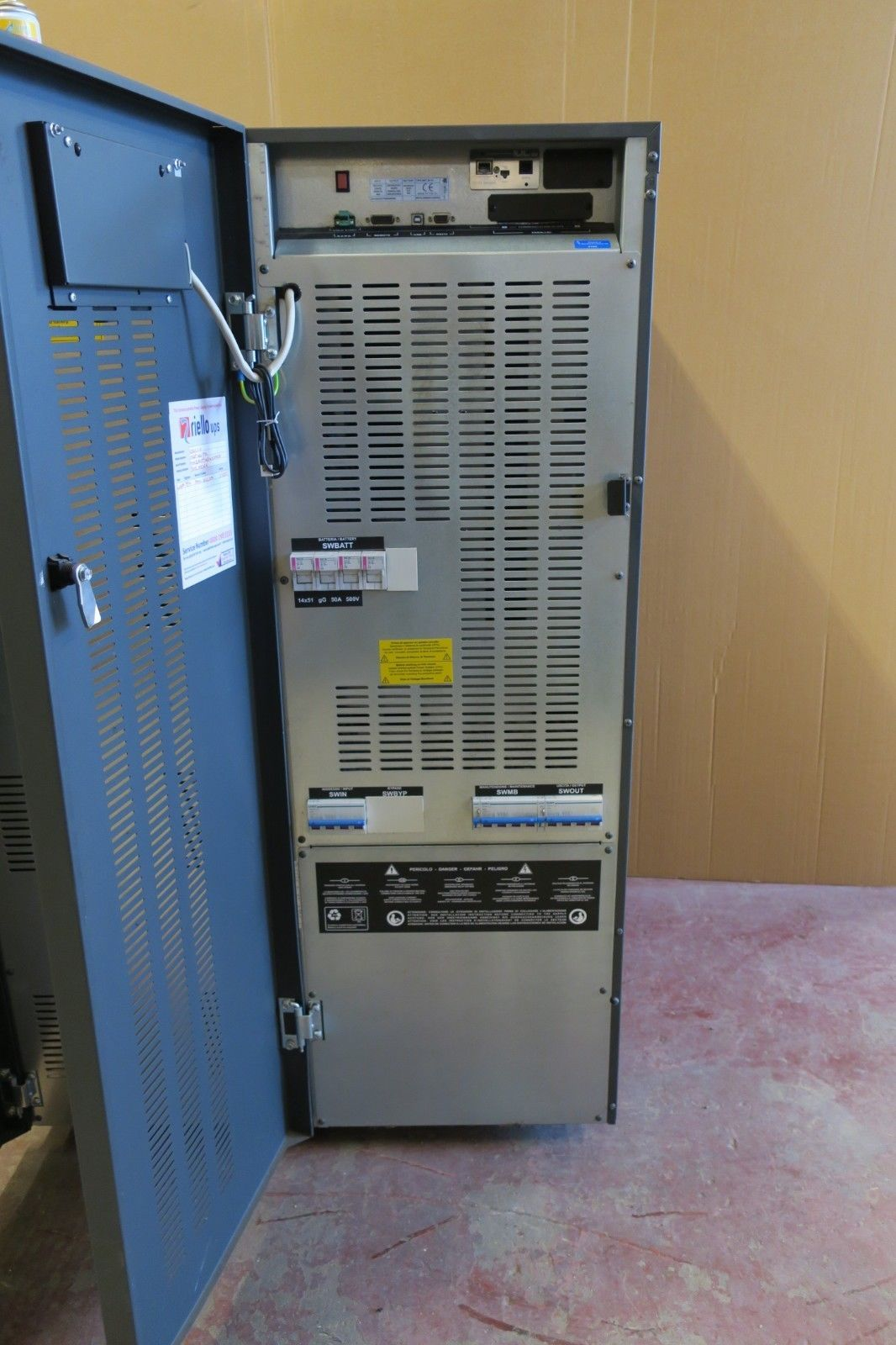 Riello Multi Sentry MST 20-T4 20kVA 18000W 3Ph UPS Battery Backup & Ex  Runtime